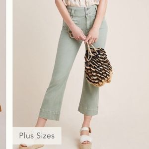 COMING SOON Pilcro High rise cropped flare jeans